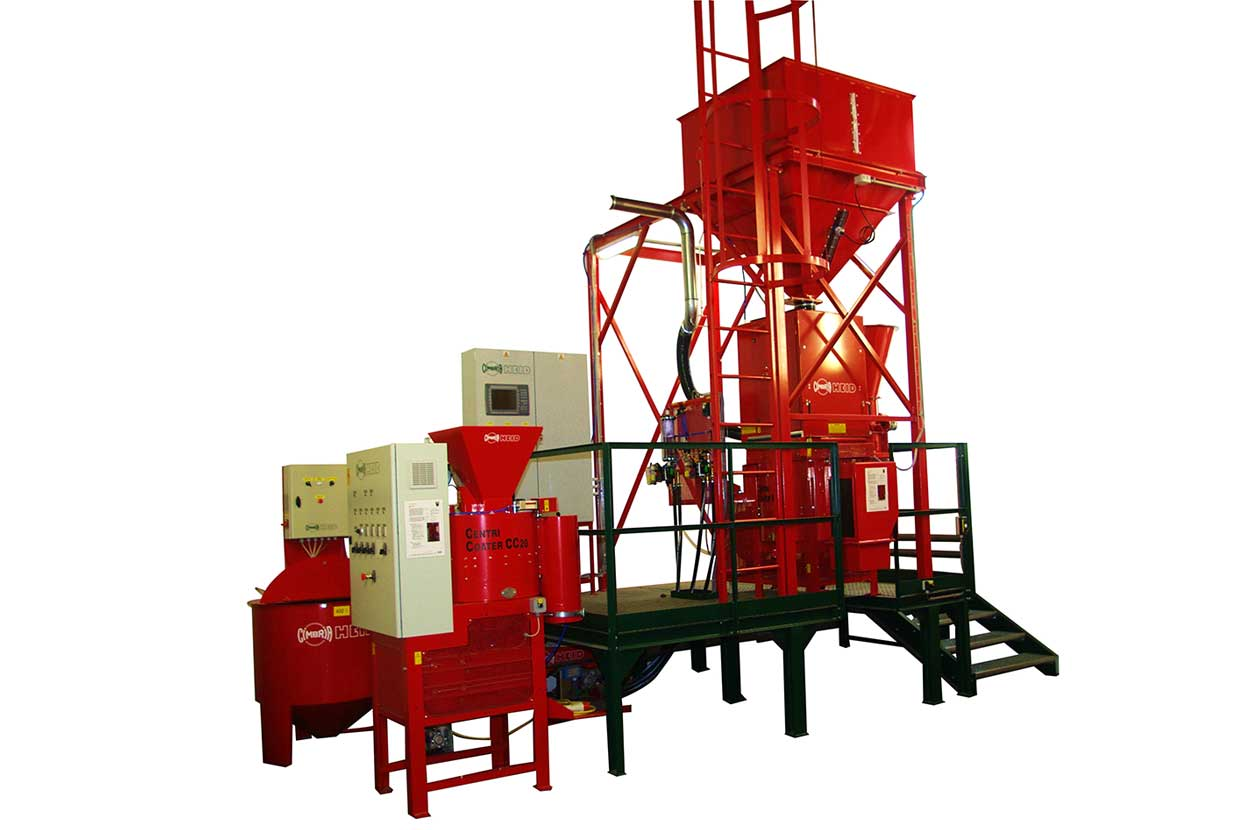 Seed Treating & Coating Centricoater
